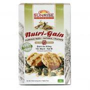 bánh ăn kiêng nutri gain yến mạch hạt bí Bánh Yến mạch Gạo lứt Nutri Gain 178 g