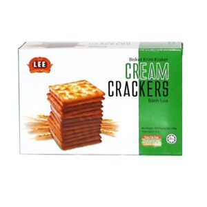 bánh cream cracker Bánh lúa lạt Cream Cracker 330 g
