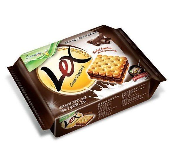 bánh lex choco gói 190 g Bánh Lex Sôcôla gói 190 g