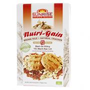 Bánh Yến mạch Gạo lứt Nutri Gain 178 g