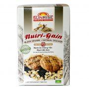 bánh ăn kiêng yến mạch mè đen nutri gain Bánh Yến mạch Hạt bí Nutri Gain 178 g