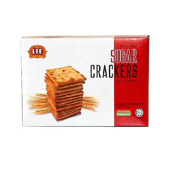 bánh lúa đường sugar cracker hộp 330 g Bánh lúa đường Sugar Cracker 345 g