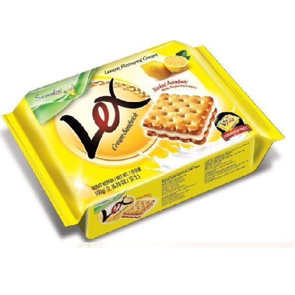 bánh lex chanh gói 190 g Bánh Lex Chanh gói 190 g