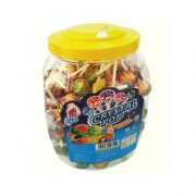 Kẹo Crystal Pop 1,2 kg Kẹo Looney Foot hũ 1,08 kg (135 que)