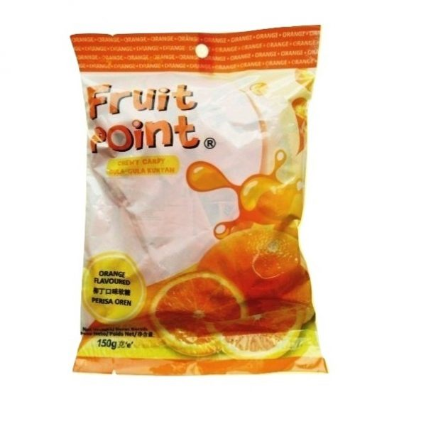 Kẹo Fruit Point hương cam 150 g Kẹo Fruit Point Hương Cam 150 g