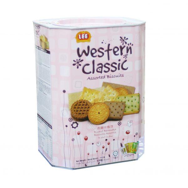 bánh-Western-Classic Bánh Quy Western Classic Hộp 520 g
