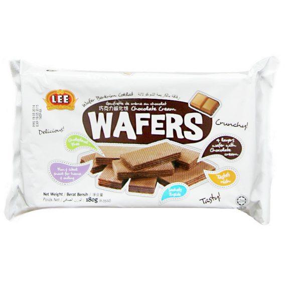 Bánh xốp kem hương Chocolate 180 g Bánh xốp kem Hương Chocolate Wafers 180 g