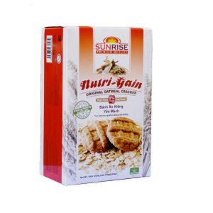 bánh yến mạch nutri gain 178 g Home