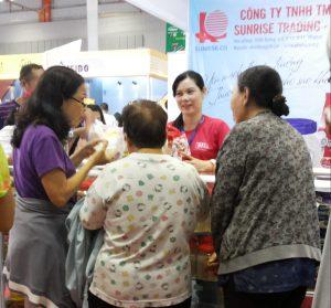 Hội chợ Công ty Nhật Thăng tại Hội chợ Triển lãm Quốc tế Thực phẩm và Đồ uống Việt Nam