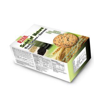 Bánh dinh dưỡng Yến mạch Mè đen 178 g