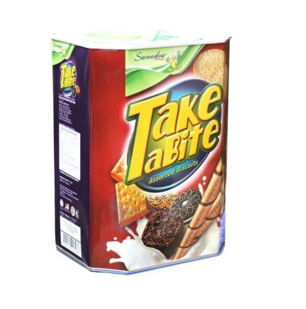 Bánh quy Take A Bite 600 g Bánh quy Take A Bite Hộp 600g