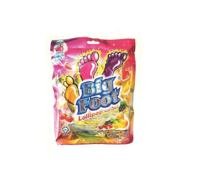 Kẹo Bigfoot gói 96 g Kẹo Big Foot 96 g (12 que)