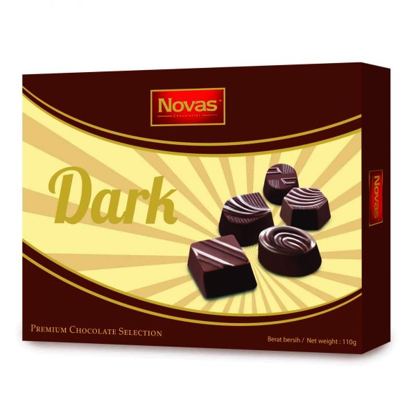 Dark Chocolate hộp 110 g Dark Chocolate Hộp 110 g