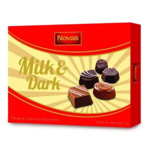 Milk and Dark Chocolate Hộp 110 g