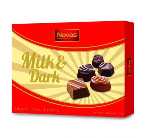 Milk and Dark Chocolate Hộp 110 g Milk and Dark Chocolate Hộp 110 g