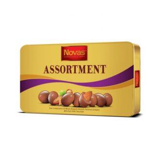 Chocolate Assortment hộp thiếc 180 g