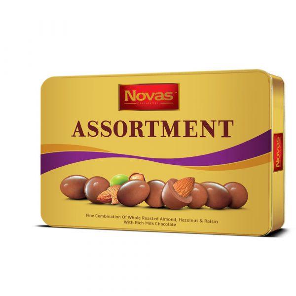 Chocolate Assortment Hộp thiếc 300 g Chocolate Assortment Hộp thiếc 300 g