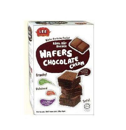 Bánh Xốp kem Hương Chocolate 200 g Bánh Xốp kem Hương Chocolate 200 g
