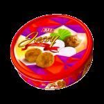 Bánh quy Jessy khoai môn hộp thiếc Kẹo Fruit Point Hương Nho 150 g