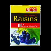 Nho đen Raisin Union 200g Bánh xốp kem Hương Chanh Wafers gói 200g
