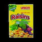 Nho vàng Raisin Union 200g Nho khô đen Union hũ 700 g