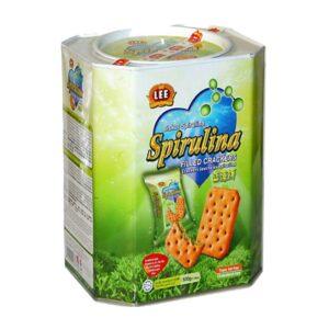 bánh thùng spirulina