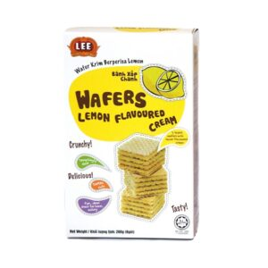 bánh xốp wafer chanh hộp 200 g