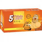 Bánh khoai tây Potato Crisps BBQ (160g)