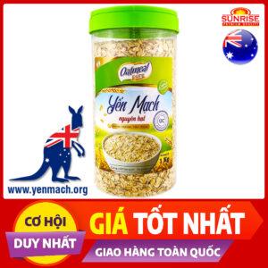 yến mạch úc nguyên hạt oatmeal 1kg