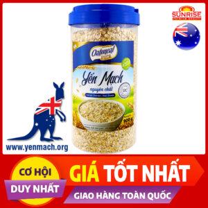 yến mạch úc nguyên chất oatmeal 900g